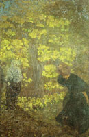 Edouard Vuillard - The Lilacs