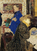 Edouard Vuillard - Misia and Vallotton at Villeneuve