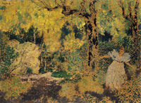 Edouard Vuillard - Misia in a Wood