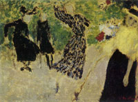 Edouard Vuillard The Game of Shuttlecock