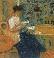 Edouard Vuillard Woman Reading