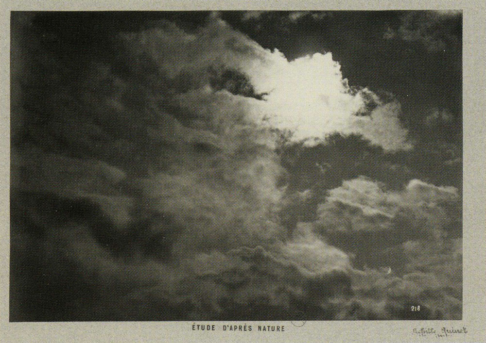 Achille Quinet - Nature Study (Clouds)