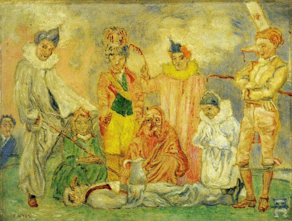 James Ensor - Baptism of the Masks