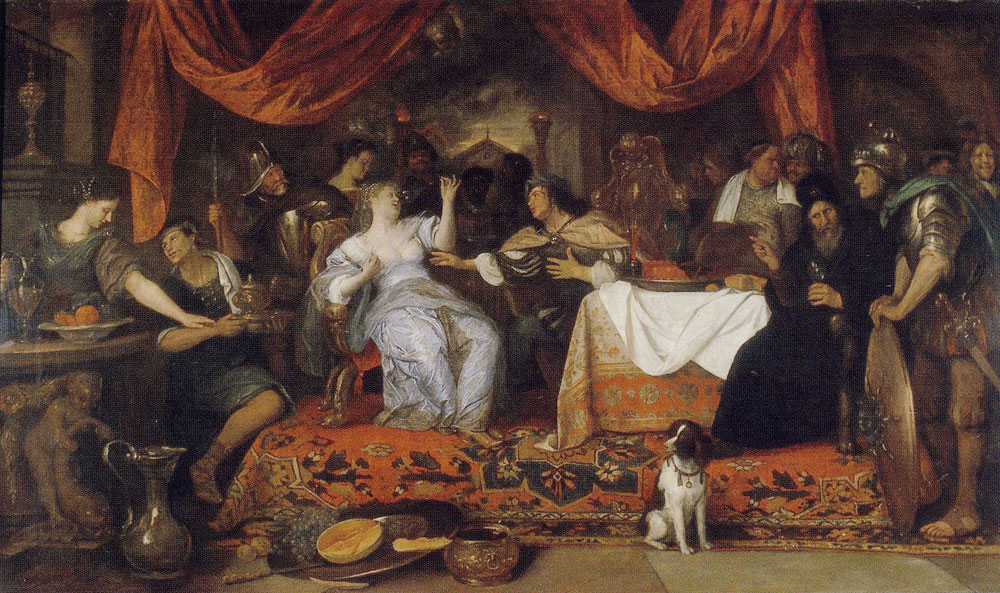 Jan Steen - The Banquet of Antony and Cleopatra
