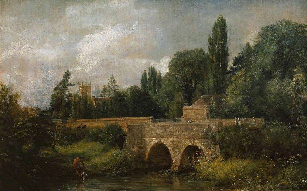 John Constable - Gillingham Bridge, Dorset