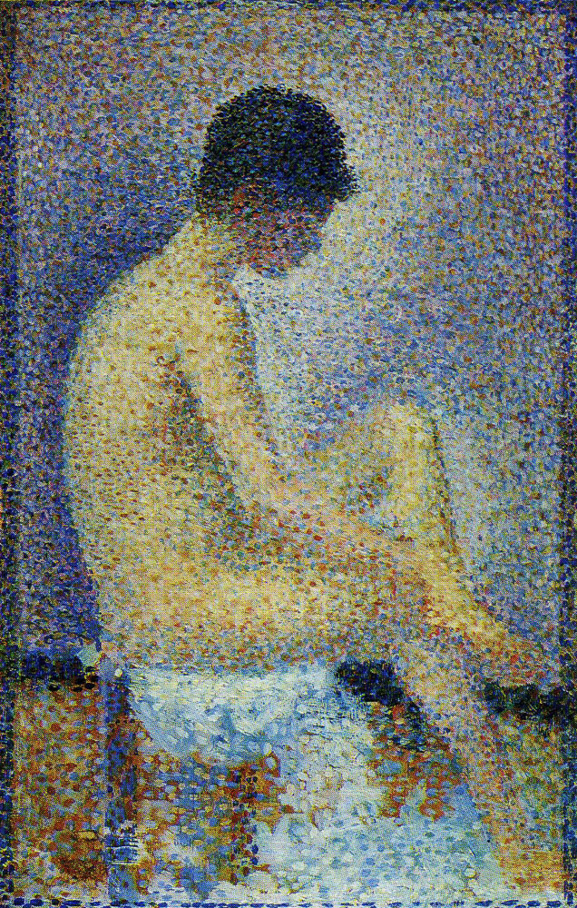 Georges Seurat - Model, Profile View