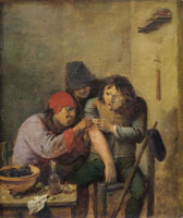 Adriaen Brouwer The Arm Operation (Touch)