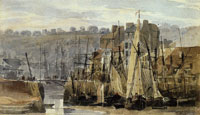 Richard Parkes Bonington Port de Peche, Boulogne