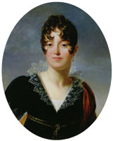 François Gérard Portrait of a Young Woman