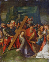 Follower of Frans Francken the Younger Christ Carrying the Cross