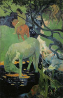 Paul Gauguin The White Horses