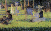 Georges Seurat Study for