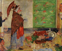 James Ensor The Astonishment of the Mask Wouse
