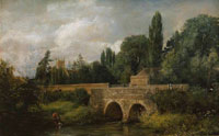 John Constable Gillingham Bridge, Dorset