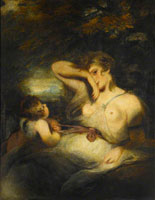 Joshua Reynolds The Snake in the Grass (Love Unloosing the Zone of Beauty)