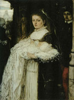 Matthijs Maris Christening Procession