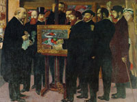 Maurice Denis Homage to Cézanne