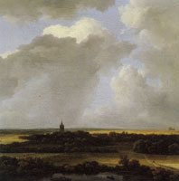 Jacob van Ruisdael An Extensive Landscape with a View of Alkmaar