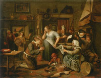 Jan Steen The Marriage Contract