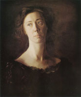 Thomas Eakins Clara (Clara J. Mather)
