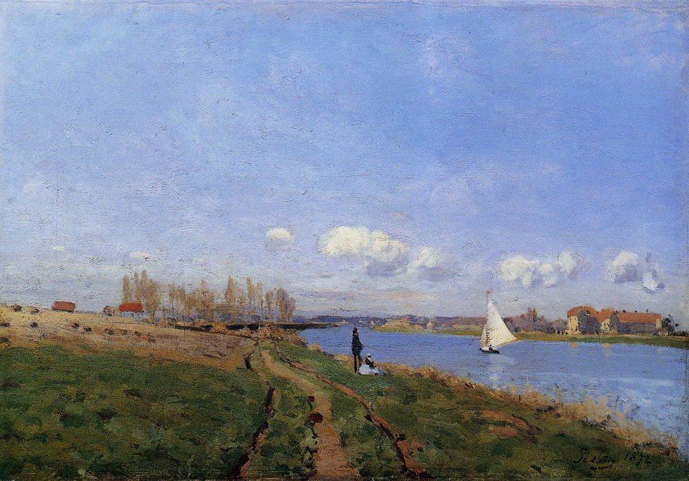 Alfred Sisley - Banks of the Seine at Argenteuil