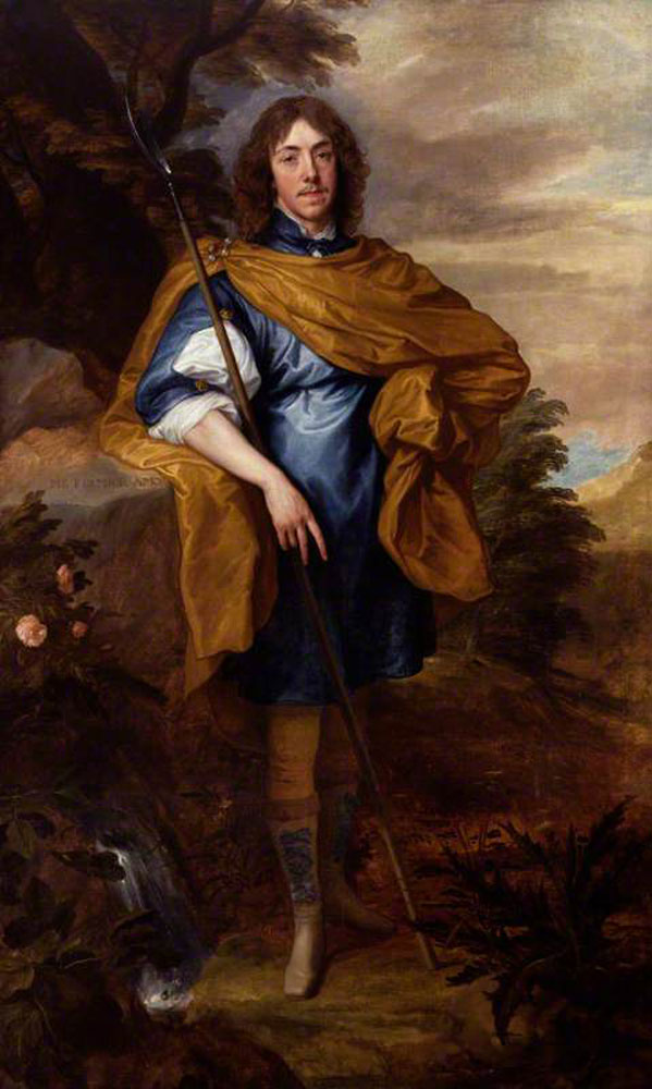 Anthony van Dyck - Lord George Stuart