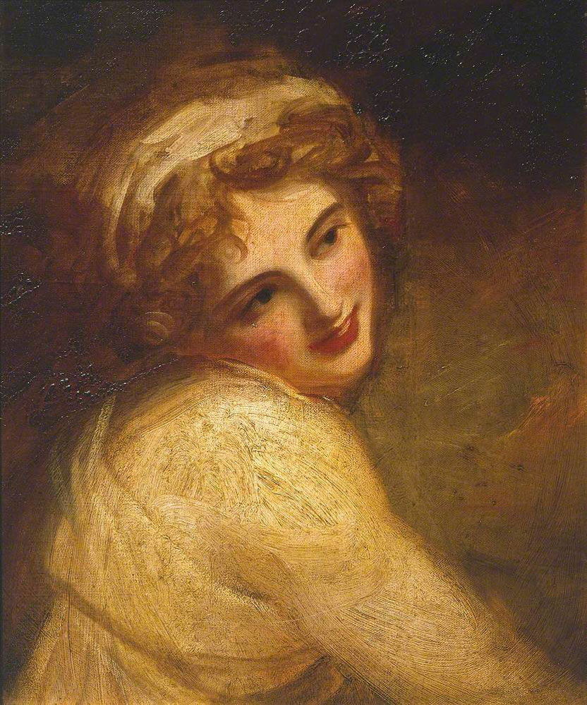 George Romney - Lady Hamilton (as a Figure in 'Fortune Telling'?)