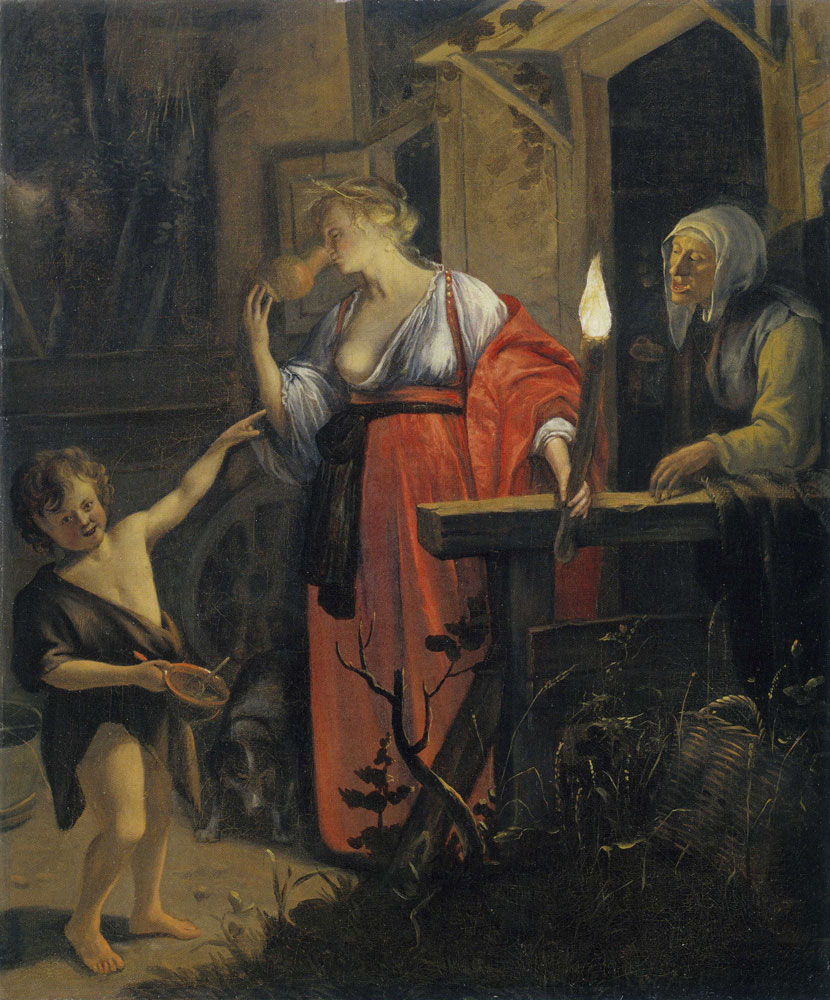 Jan Steen - The Mocking of Ceres