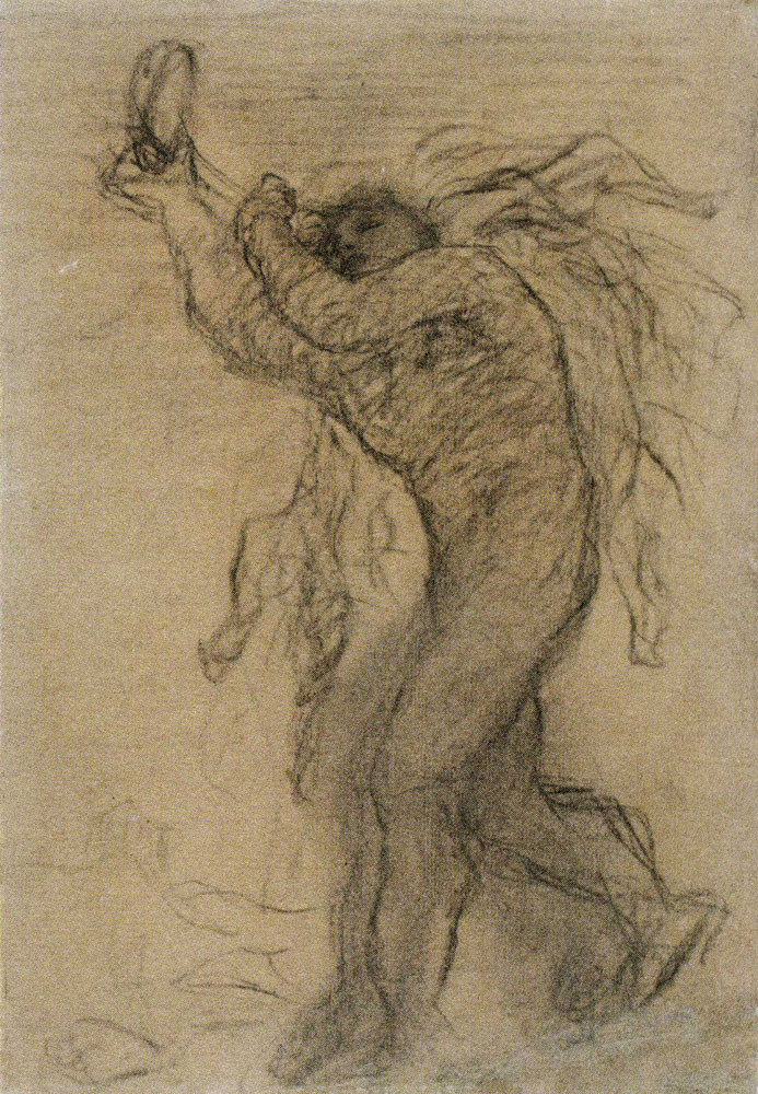 Matthijs Maris - Male Nude