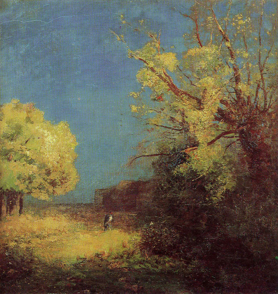 Odilon Redon - The Road to Peyrelebade