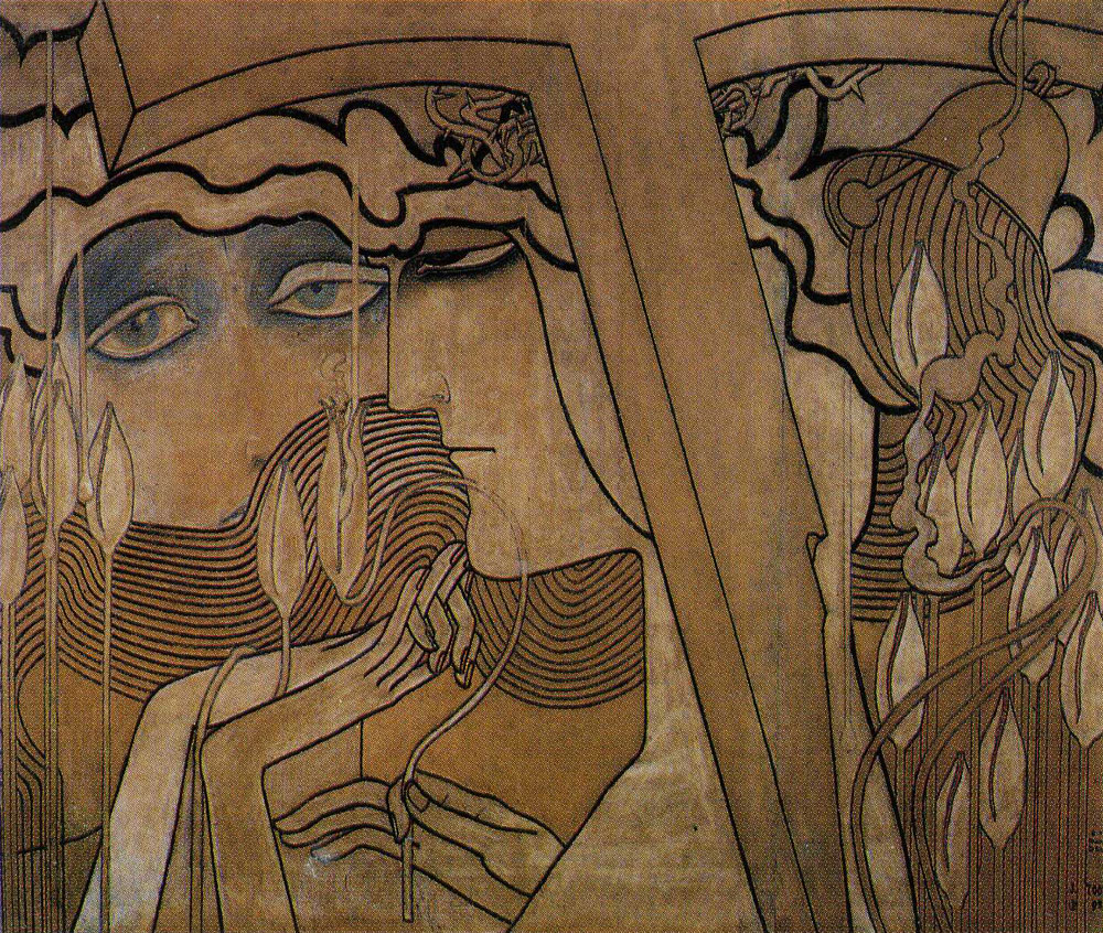 Jan Toorop - Desire and Gratification (The Appeasing)