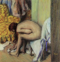 Edgar Degas Nude Wiping Her Front
