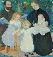 Maurice Denis The Mellerio Family