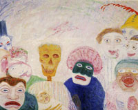 James Ensor Death and the Masks