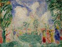 James Ensor Little Garden of Love