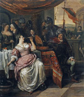 Jan Steen The Banquet of Antony and Cleopatra