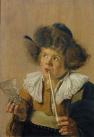 Jan Miense Molenaer - The sense of Taste