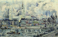 Paul Signac View of the Cathedral of Rouen