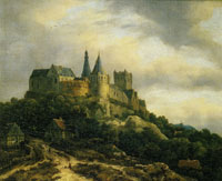 Jacob van Ruisdael Bentheim Castle