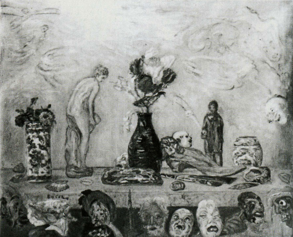 James Ensor - In the Reign of the Mask