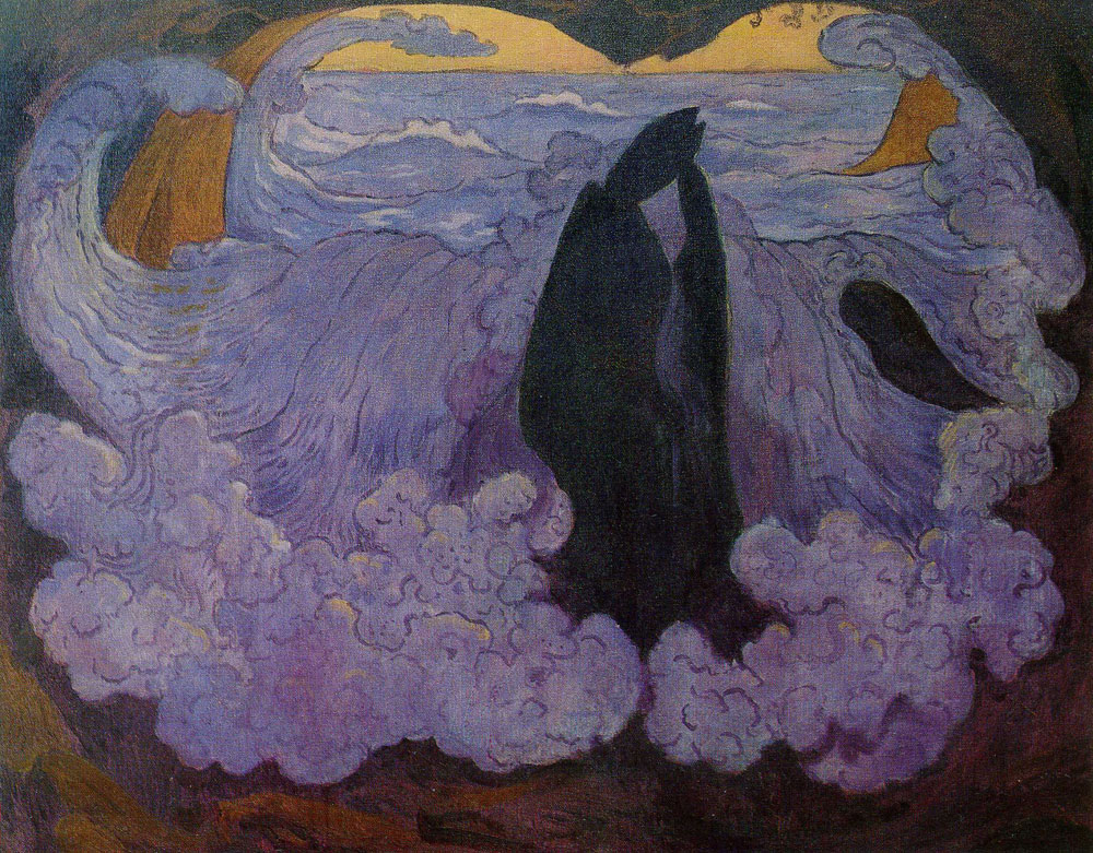 Georges Lacombe - The Violet Wave
