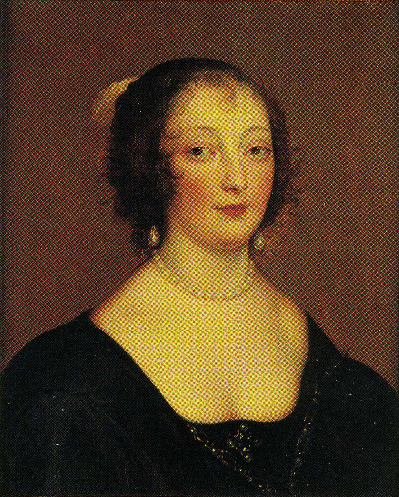 Attributed to Remigius van Leemput - Lady Diana Cecil, Countess of Oxford, later Countess of Elgin
