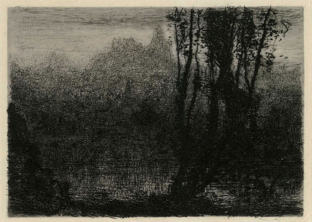 Matthijs Maris - The Enchanted Castle