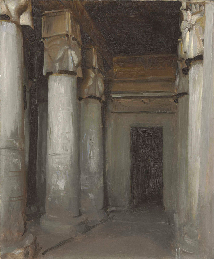 John Singer Sargent - The Temple of Denderah