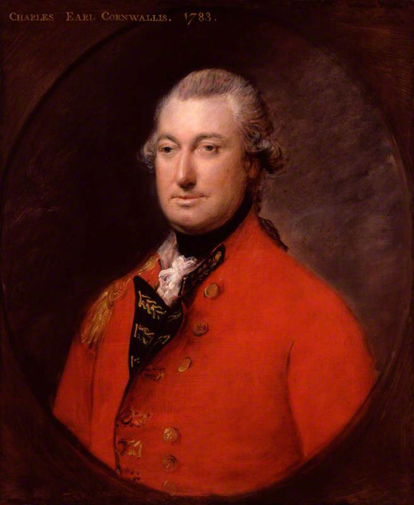 Thomas Gainsborough - Charles Cornwallis, 1st Marquess Cornwallis