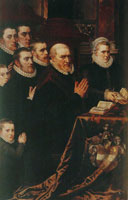 Adriaen Thomasz. Key Donor Portraits of Gillis de Smidt, His Sons and His Daughter