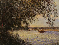 Alfred Sisley The Seine at St. Mammes