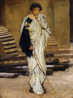 Lawrence Alma-Tadema The Roman Architect