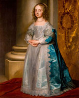 Anthony van Dyck Princess Mary Stuart (1631-1660)