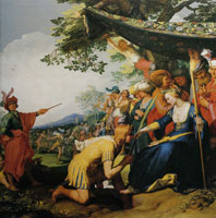 Abraham Bloemaert Theagenes Receives the Palm of Honour from Charicleia